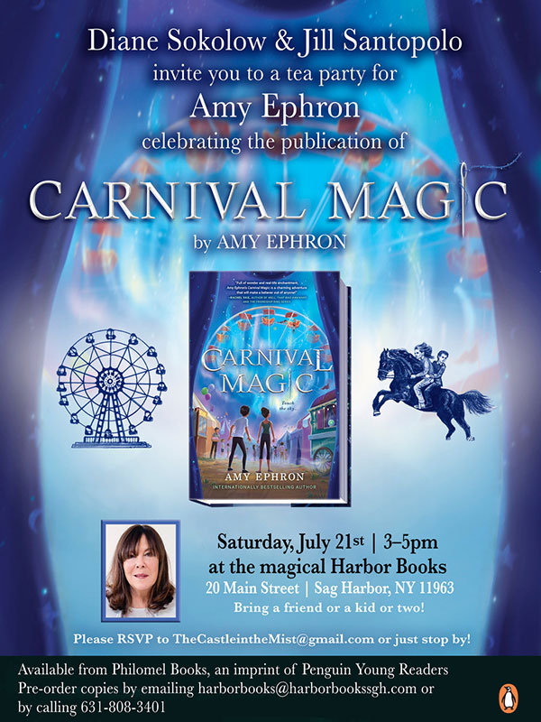 Carnival Magic Invite Harbor Books
